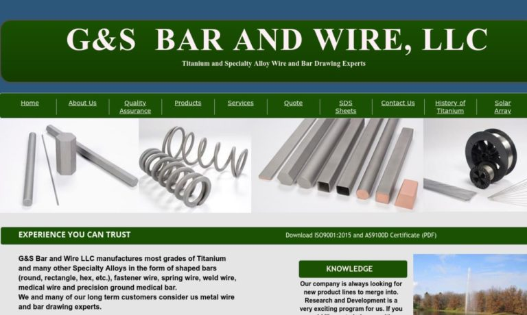 G & S Bar And Wire, LLC