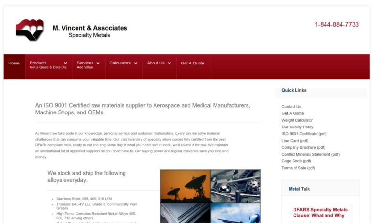 M. Vincent and Associates, LTD