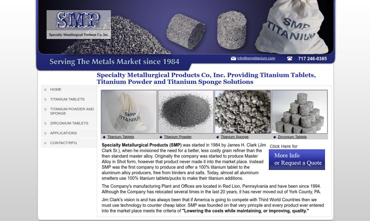 More Titanium Supplier Listings