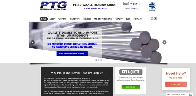 Performance Titanium Group