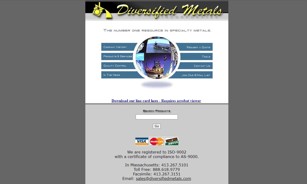 Diversified Metals, Inc.
